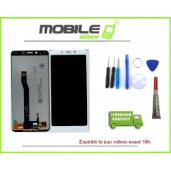 Vitre Tactile + Ecran LCD Pour Xiaomi Redmi 6 Couleur Blanc + Outils + Colle