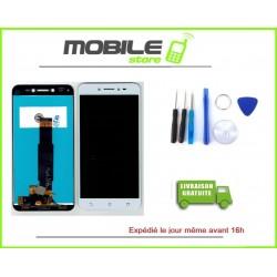 Vitre Tactile + Ecran LCD pour ASUS ZENFONE LIVE ZB501KL et X00FD Blanc + Outils