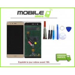 Vitre Tactile + LCD Huawei P10 couleur gold/or