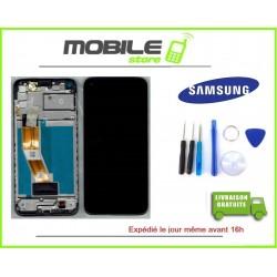 Vitre Tactile + Ecran LCD + Chassis Original Samsung A115f A11 2020 noir +Outils