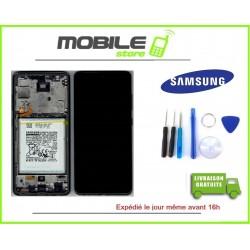 Vitre Tactile + Ecran LCD + Chassis Original Samsung A326b A32 5G noir+ outils