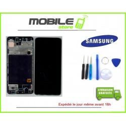 Vitre Tactile + Ecran LCD + Chassis Original Samsung A515f A51 2020 noir + Outil