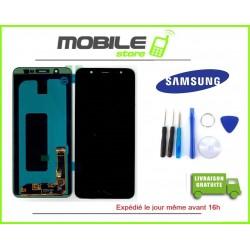 Vitre Tactile + Ecran LCD Original Pour Samsung A6+ 2018 et A605f Noir + Outils
