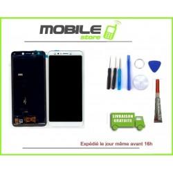 Vitre Tactile + Ecran LCD pour ASUS ZENFONE 5 LITE ZC600KL et X017DA Blanc + colle