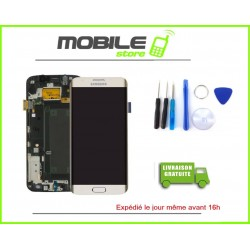 Vitre Tactile + LCD original Samsung G925f et S6 edge couleur gold/or
