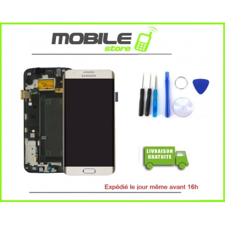 Vitre Tactile + LCD original pour Samsung J710f et J7 2016 couleur blanc