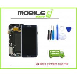 Vitre Tactile + LCD original Samsung G925f et S6 edge couleur noir