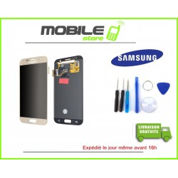 Vitre Tactile + LCD original Samsung G930f et S7 couleur gold/or