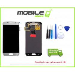 Vitre Tactile + LCD original Samsung G930f et S7 couleur silver
