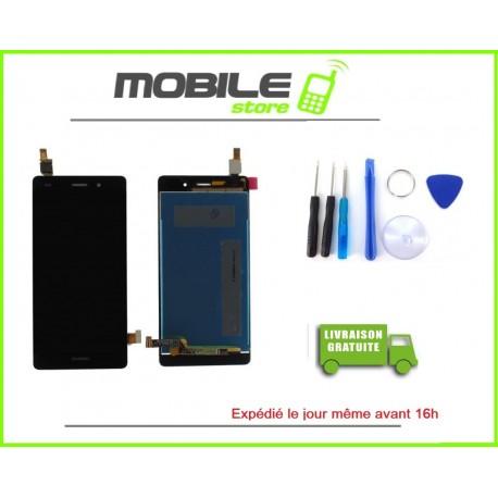 Vitre Tactile + LCD Huawei P8 lite couleur noir