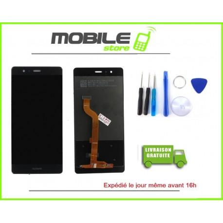 Vitre Tactile + LCD Huawei P9 lite couleur noir