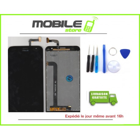 Vitre Tactile + LCD Pour Huawei P8 lite gold/or