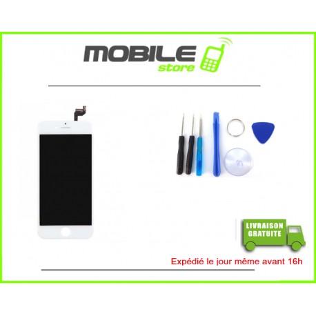 VITRE TACTILE + LCD POUR IPHONE 6S COULEUR BLANC