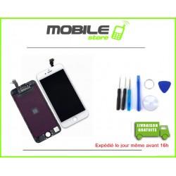 VITRE TACTILE + LCD IPHONE 6+ et 6PLUS COULEUR BLANC