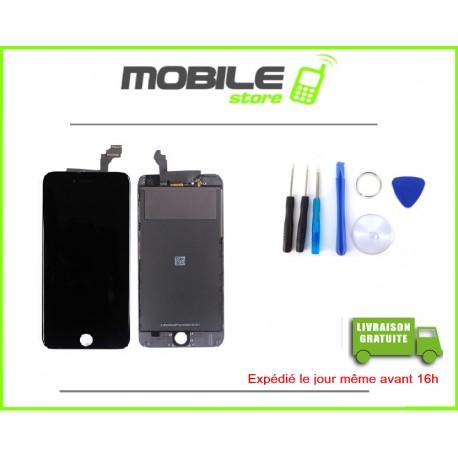VITRE TACTILE + LCD POUR IPHONE 6+ et 6PLUS COULEUR NOIR