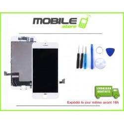 VITRE TACTILE + LCD POUR IPHONE 7 COULEUR BLANC