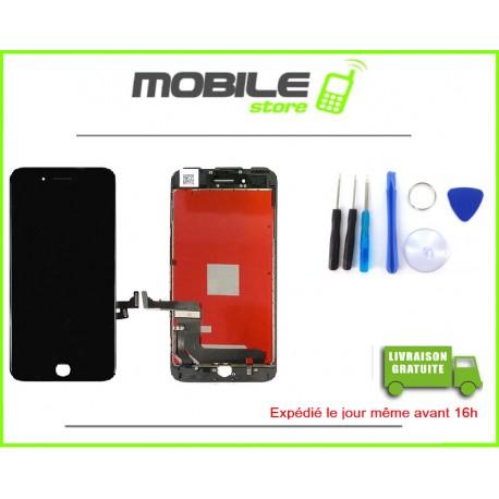 VITRE TACTILE + LCD POUR IPHONE 7 COULEUR NOIR