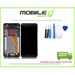 VITRE TACTILE + LCD + CHASSIS HTC 816 COULEUR NOIR