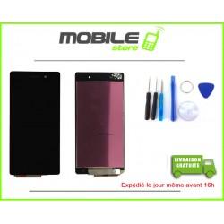 VITRE TACTILE + LCD POUR SONY Z2 L50W D6502 D6503 COULEUR NOIR