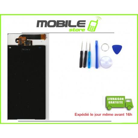 VITRE TACTILE + LCD POUR SONY Z5 MINI ET COMPACT ET D5823 ET E5803 COULEUR NOIR