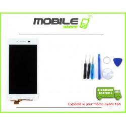 VITRE TACTILE + LCD POUR SONY Z5 ET E6603 ET E6653 COULEUR BLANC