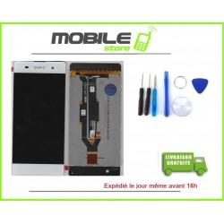VITRE TACTILE + LCD POUR SONY XPERIA XA ET F3111 COULEUR BLANC