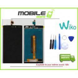 VITRE TACTILE + LCD POUR WIKO RIDGE 4G NOIR