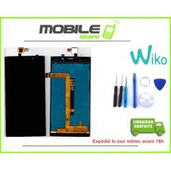 VITRE TACTILE + LCD ORIGINAL POUR WIKO RIDGE FAB 4G COULEUR NOIR