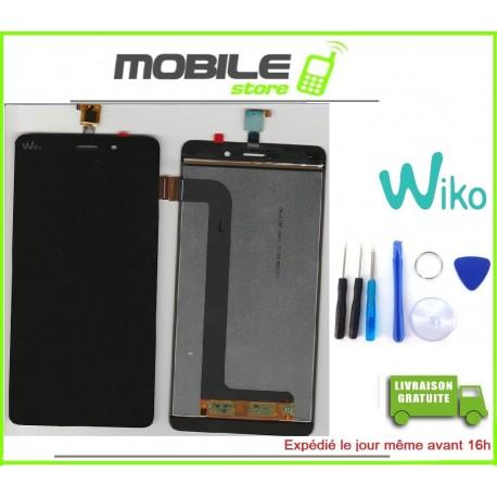 VITRE TACTILE + LCD ORIGINAL POUR WIKO PULP FAB 4G COULEUR NOIR