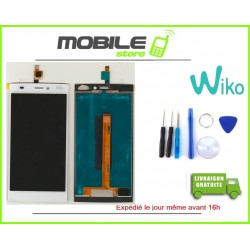 VITRE TACTILE + LCD ORIGINALE WIKO RIDGE 4G NOIR