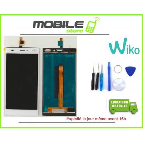 VITRE TACTILE + LCD ORIGINALE POUR WIKO RIDGE 4G NOIR