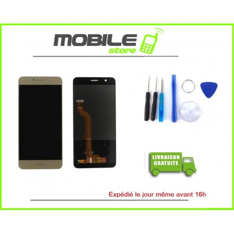 Vitre Tactile + LCD Pour Huawei Honor 8 gold/or