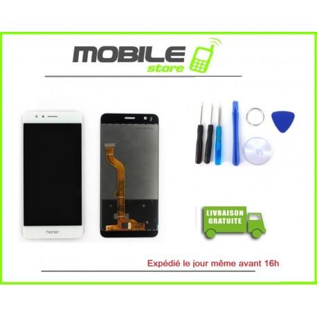 Vitre Tactile + LCD Pour Huawei Honor 8 couleur blanc