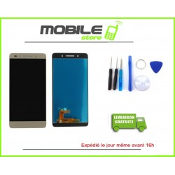 Vitre Tactile + LCD Huawei Honor 7 couleur gold/or