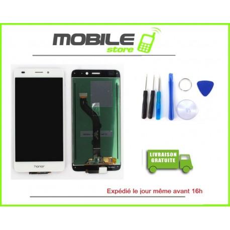 Vitre Tactile + LCD Pour Huawei Honor 5X couleur blanc