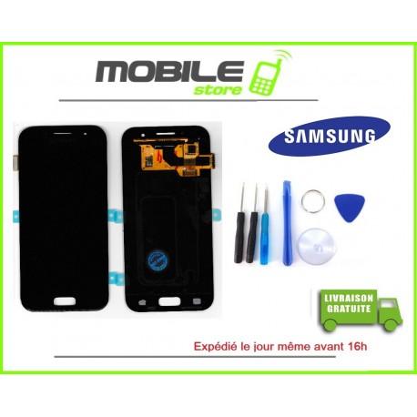 Vitre Tactile + LCD original pour Samsung A310f et A3 2016 couleur noir
