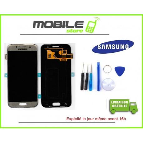 Vitre Tactile + LCD original pour Samsung A320f et A3 2017 couleur noir