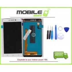 Vitre Tactile + LCD LENOVO K5 COULEUR BLANC