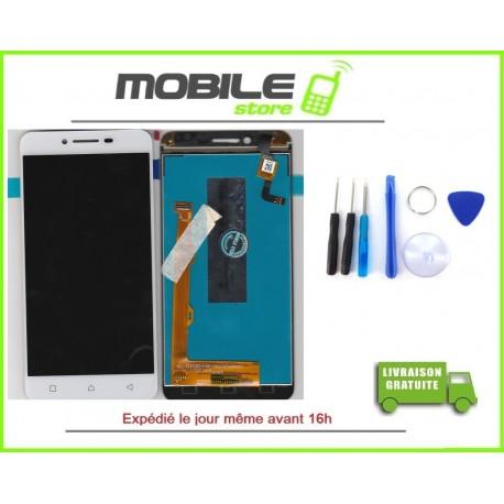 Vitre Tactile + LCD Pour ASUS ZC520TL ET ZENFONE 3 MAX COULEUR BLANC