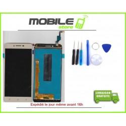 Vitre Tactile + LCD Pour LENOVO K5 COULEUR BLANC