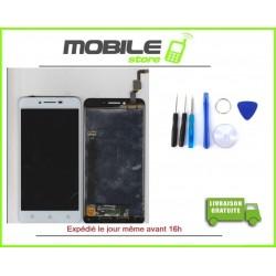 Vitre Tactile + LCD LENOVO K5 PLUS COULEUR BLANC