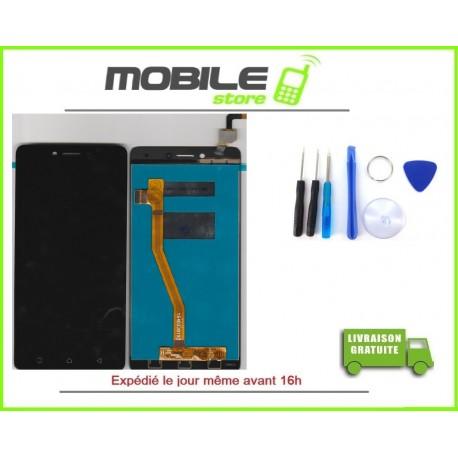 Vitre Tactile + LCD Pour LENOVO K5 PLUS COULEUR NOIR