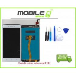 Vitre Tactile + LCD LENOVO K6 NOTE COULEUR BLANC