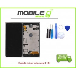 VITRE TACTILE + LCD + CHASSIS + HP + VIBREUR POUR NOKIA N550