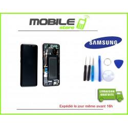Vitre Tactile + LCD + CHASSIS original Samsung G950f et S8 couleur noir