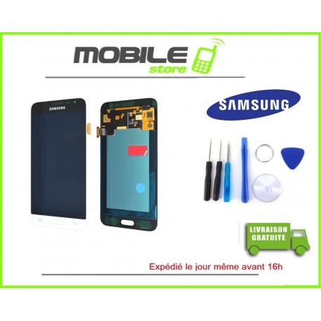 Vitre Tactile + LCD original pour Samsung J320f et J3 2016 couleur blanc