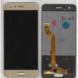 Vitre Tactile + ecran LCD Huawei Honor 9 gold/or