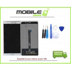 Vitre Tactile + LCD Huawei MATE 9 couleur blanc