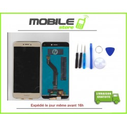 Vitre Tactile + LCD Huawei P8 lite 2017 gold/or
