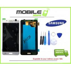 Vitre Tactile + LCD original pour Samsung J510f et J5 2016 couleur blanc